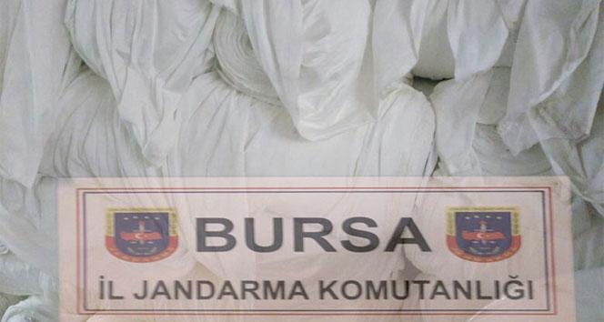 Bursada bir şahıs çalıştığı fabrikadan 1 milyonluk kumaş çaldı