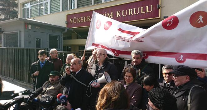 Engelli vatandaşlar YSKdan taleplerini açıkladı