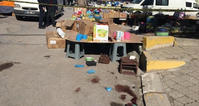 Uşakta pazar yerinde silahlı kavga: 2 ölü
