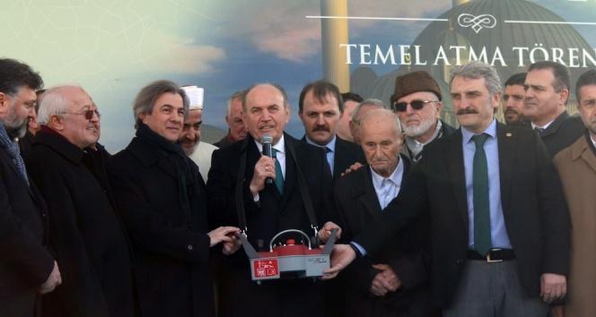 Taksim Meydanına yapılacak olan caminin temeli atıldı