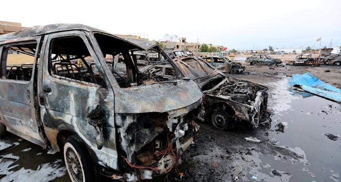 Bağdatta bombalı araç saldırısında 52 kişi öldü