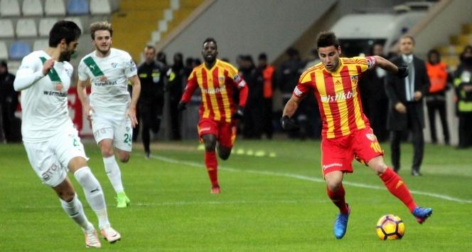 Spor Toto Süper Lig (Maç Sonucu) Kayserispor: 2 - Bursaspor: 0