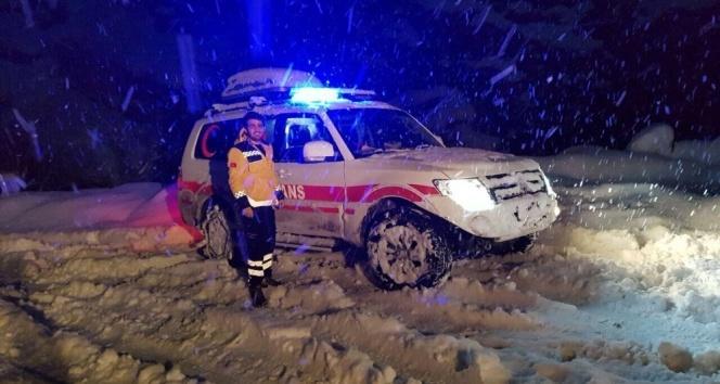 Şanlıurfada 8 saatlik hasta kurtarma operasyonu