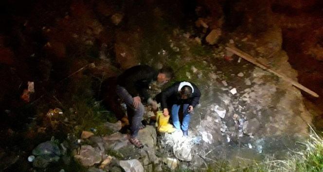Aydında polisle çatışan katil zanlısı su kanalında yakalandı