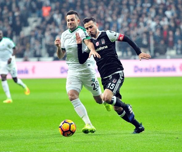 Beşiktaş Akhisar maçı özel kareler