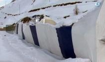 Hakkarinin ilk buz pateni pistinin çatısı çöktü
