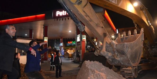 Malatya'da şoförler ile zabıtalar arasında gergin anlar yaşandı