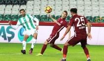 Spor Toto Süper Lig: Atiker Konyaspor: 1 - Trabzonspor: 1 (Maç sonucu) Trabzon Konya maç özeti ve golleri izle