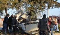 Korkutelide trafik kazası: 3 ölü