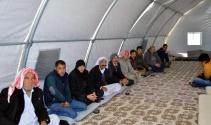 Diyarbakırdaki Ezidiler Midyattaki kampa nakledildi