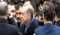 Erdoğana köşk girişinde yaş günü sürprizi