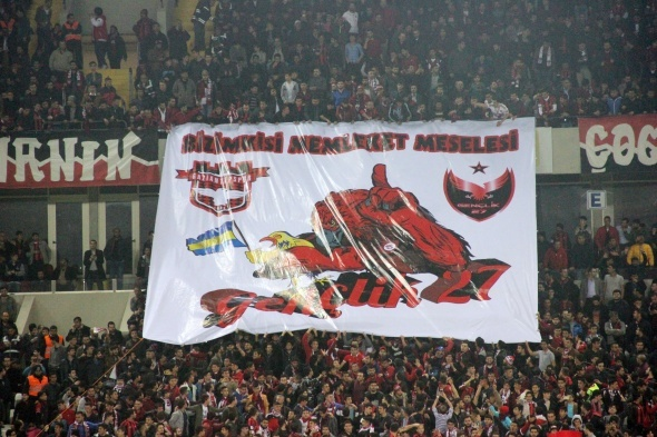 Gaziantepsor 1-1 Fenerbahçe