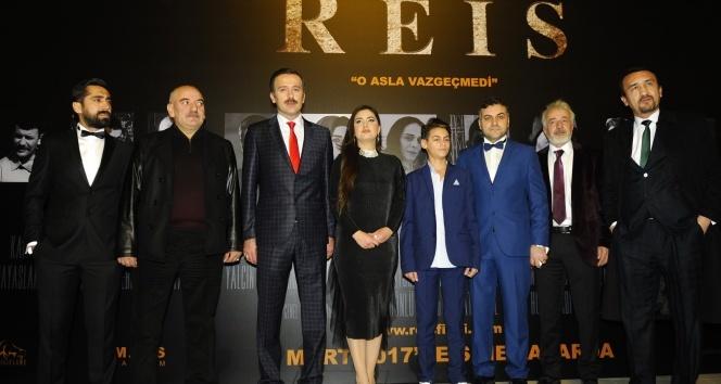 Reis filminin galası yoğun katılımla yapıldı