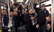 Beşiktaş taraftarı stada böyle gitti