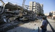İsrail, Gazzeyi vurdu: 4 yaralı