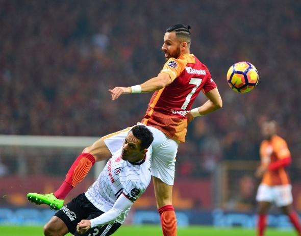 Galatasaray Beşiktaş derbisi özel kareler