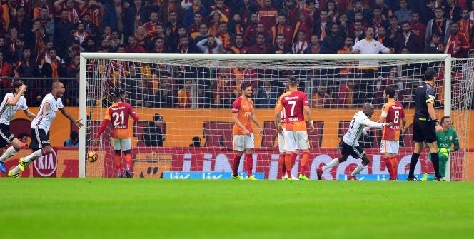 Galatasaray Beşiktaş maçı foto özet