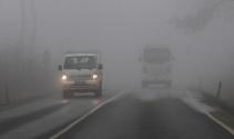 İstanbul'da sis trafiği etkiledi