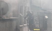 Beyoğlunda yangın paniği