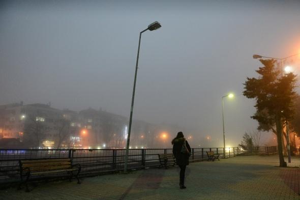 İstanbul sis altında| İstanbul sis fotoğrafları (28 Şubat 2017)