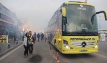 Fenerbahçe kafilesi Kayseride