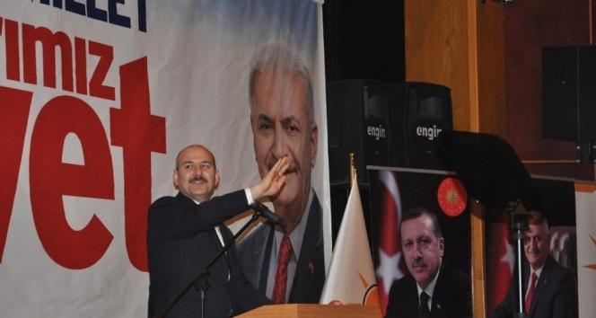 """İçişleri Bakanı Soylu: """"Milletimiz artık terör istemiyor"""""""