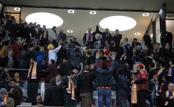 Kayserispor Fenerbahçe maçından özel kareler