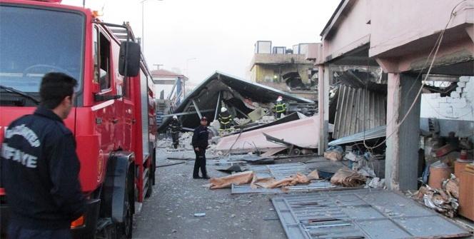 Gaziantep Sanayi Sitesinde büyük patlama
