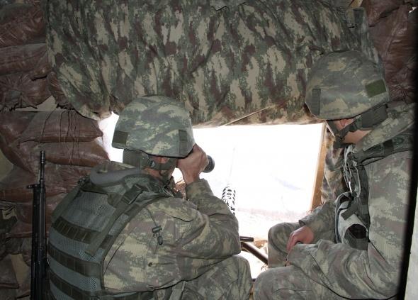 Mehmetçik'ten teröristlere ağır darbe
