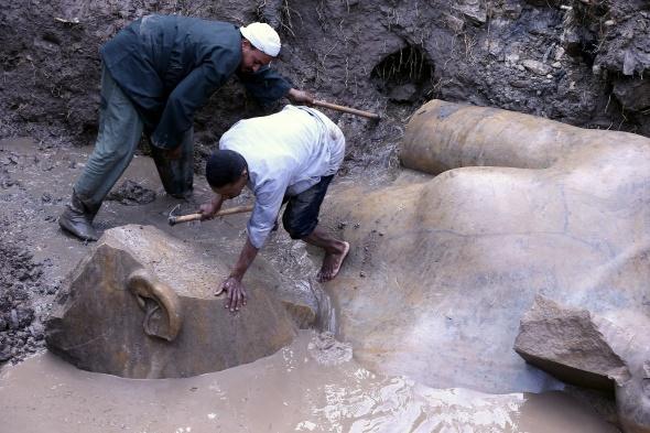Çamur çukurundan 3 bin yıllık tarih çıktı