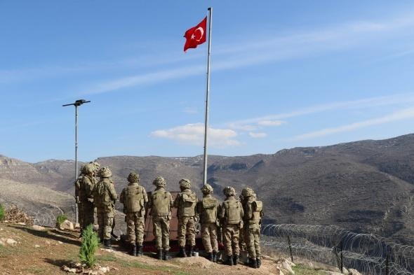 Kahraman Mehmetçik Gabar'a huzur getirdi