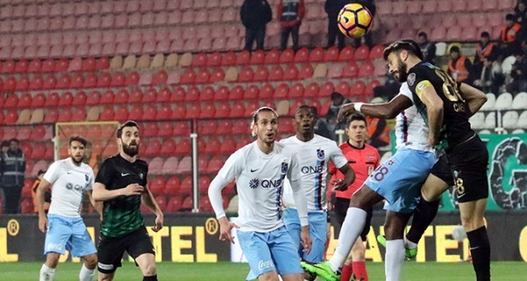 Akhisar 1-3 Trabzonspor maçı özeti