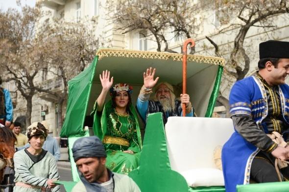 Azerbaycan'da Nevruz kutlamaları başladı