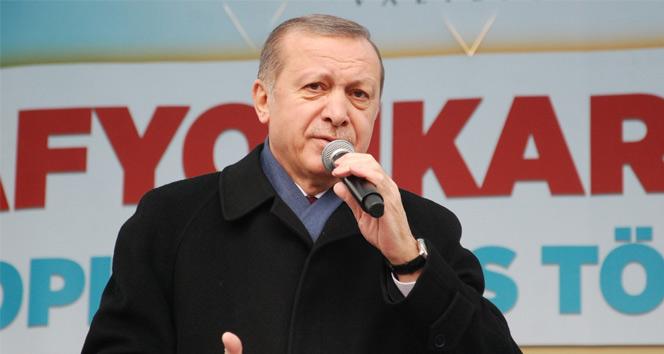 Erdoğan: Bunun yalanlarının freni yok