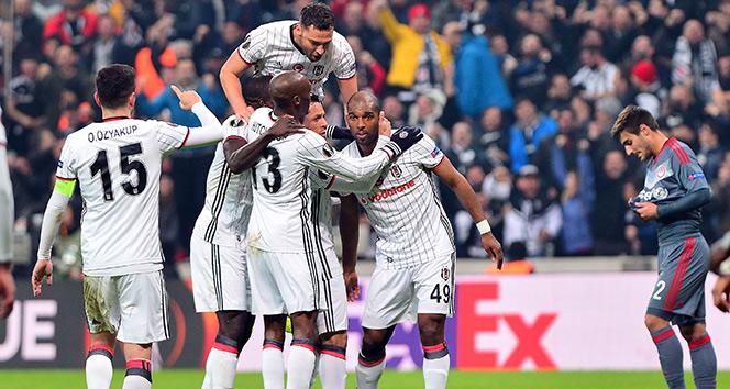 Beşiktaş Olympiakos maçıyla bu sezon Avrupada ilk kez 4 gol attı