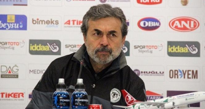 Atiker Konyasporda Teknik Direktör Aykut Kocaman: Beklentimizin üzerinde bir skor oldu