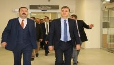 Müsteşar Gümüş, Isparta Şehir Hastanesini inceledi
