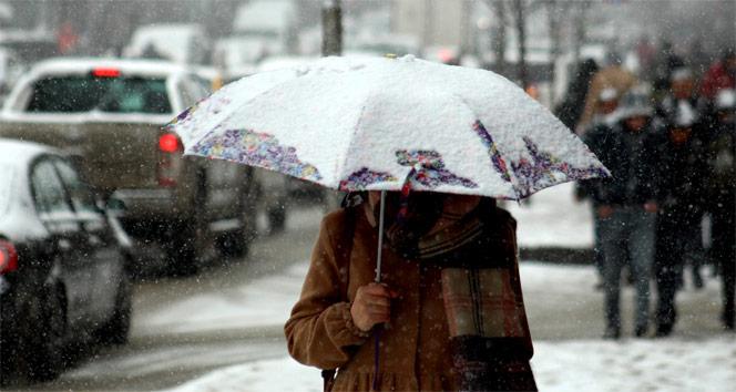 Meteorolojiden kar uyarısı!  27 Ocak Cumartesi yurtta hava durumu