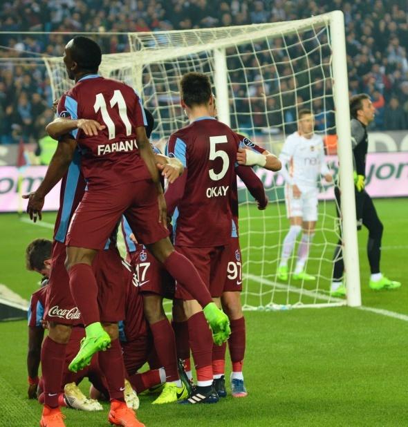 Trabzonspor Galatasaray maçı özel kareler
