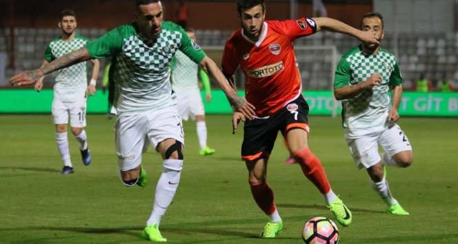 Spor Toto Süper Lig: Adanaspor: 2 - Akhisar Belediyespor: 1 (Maç sonucu)