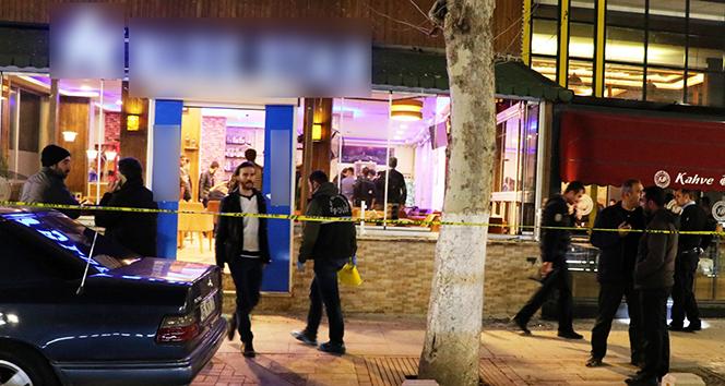 Malatyada kafede silahlı kavga: 2 ölü, 10 yaralı