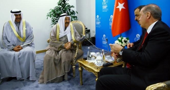 Kuveyt Emiri el Sabah Ankaraya geldi