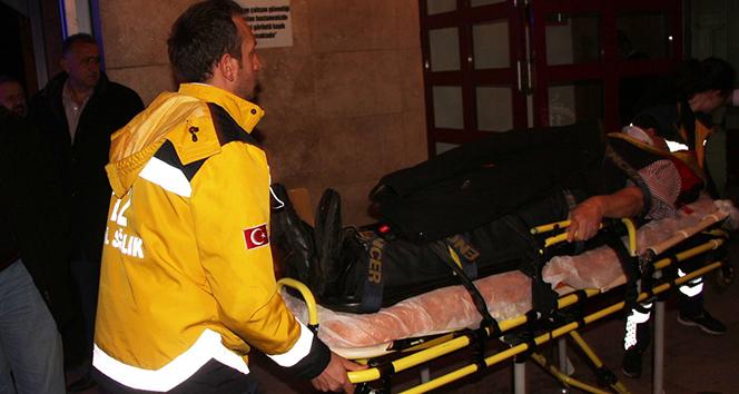Zonguldakta trafik kazası: 4 yaralı