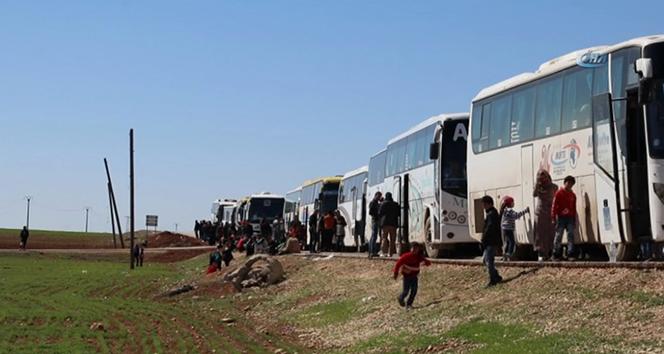 Suriyeli muhalif gruplar ve aileleri, Halepin kuzeyine çekiliyor