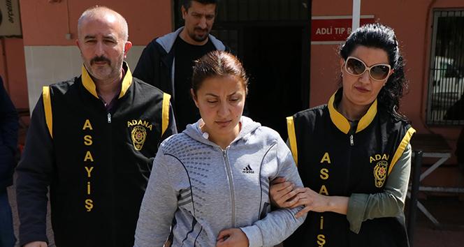 Bıçaklı gaspa yardım eden kadın tutuklandı