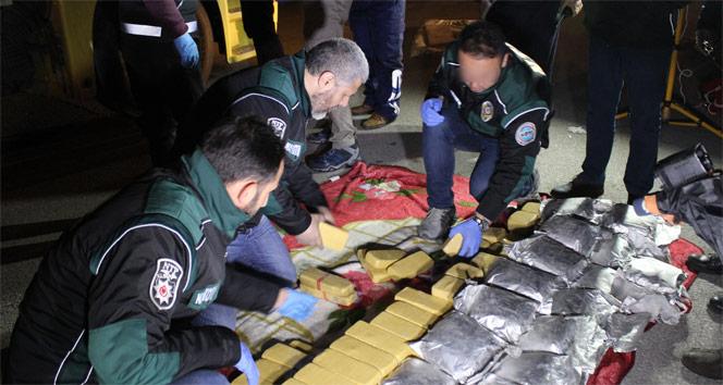 İranndan gelen tırda, 9 milyon değerinde 115 kilo eroin yakalandı