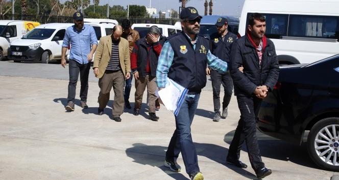 Antalyada DEAŞ operasyonu: 5 gözaltı