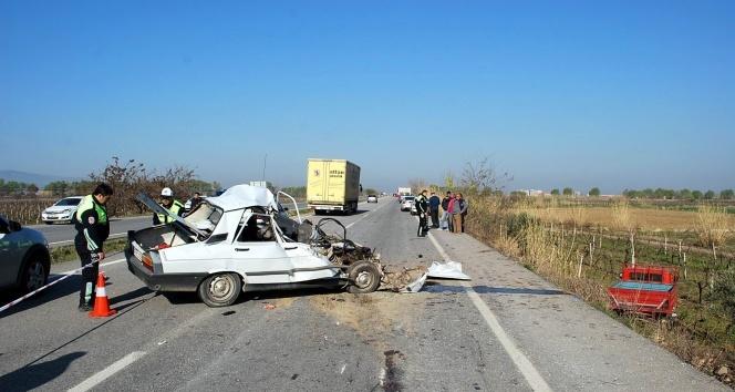 Manisada feci kaza: 3 ölü