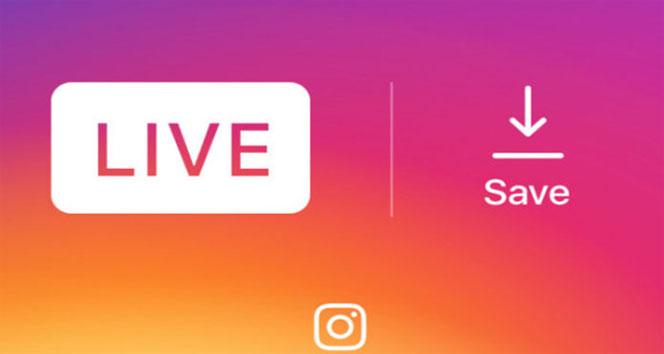 Artık Instagram canlı yayınlarınızı galerinize kaydedebiliyorsunuz