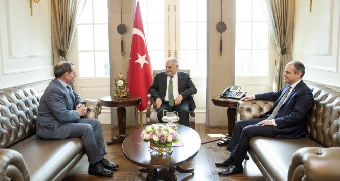 Başbakan Yıldırım, Dursun Özbeki kabul etti